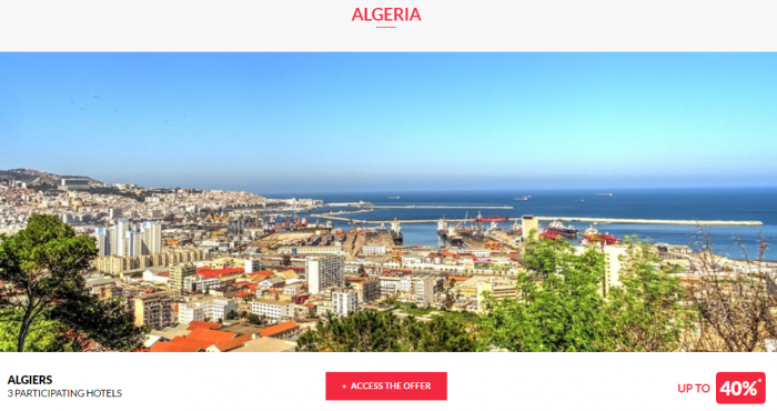 Le Club AccorHotels Private Sales May 10 2017 Algeria 1