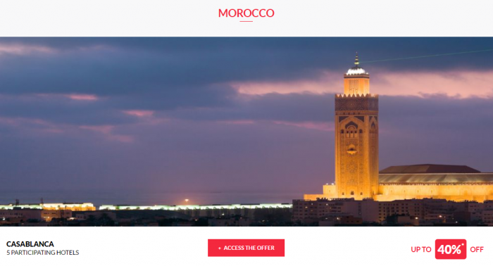 Le Club AccorHotels Private Sales May 10 2017 Morocco 1