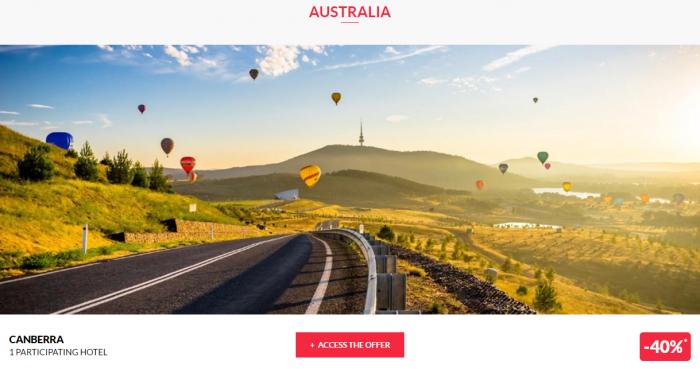 Le Club AccorHotels Private Sales May 17 Australia 1