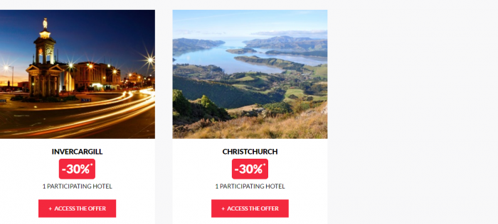 Le Club AccorHotels Private Sales May 17 New Zealand 2