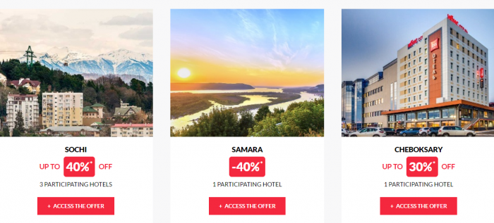 Le Club AccorHotels Private Sales May 17 Russia 2