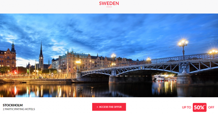 Le Club AccorHotels Private Sales May 17 Sweden 1
