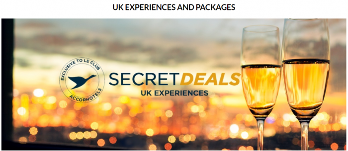Le Club AccorHotels UK & Ireland Happy Mondays Gone Secret Deals UK Experiences And Packages