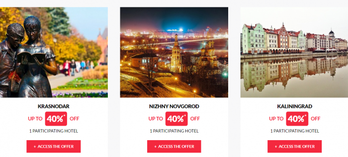 Le Club AccorHotels Worldwide Private Sales May 24 2017 Russia 3