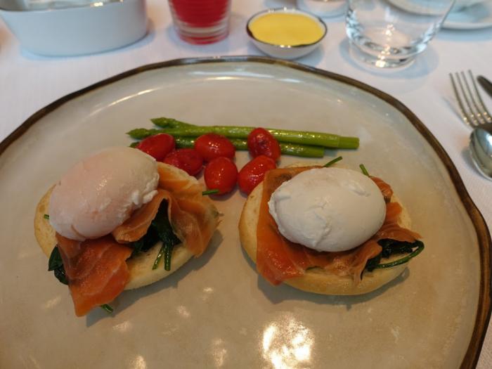 Park Hyatt Bangkok - Breakfast - Eggs Benedict Closer Look