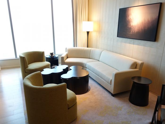Park Hyatt Bangkok - Executive Suite 1616 - Living Room