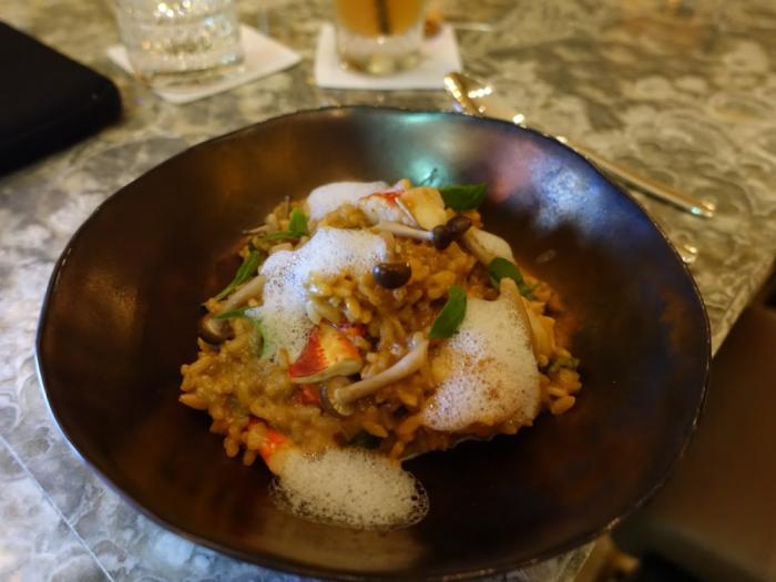 Park Hyatt Bangkok - Lobby Bar - Embassy Room Lobster Risotto