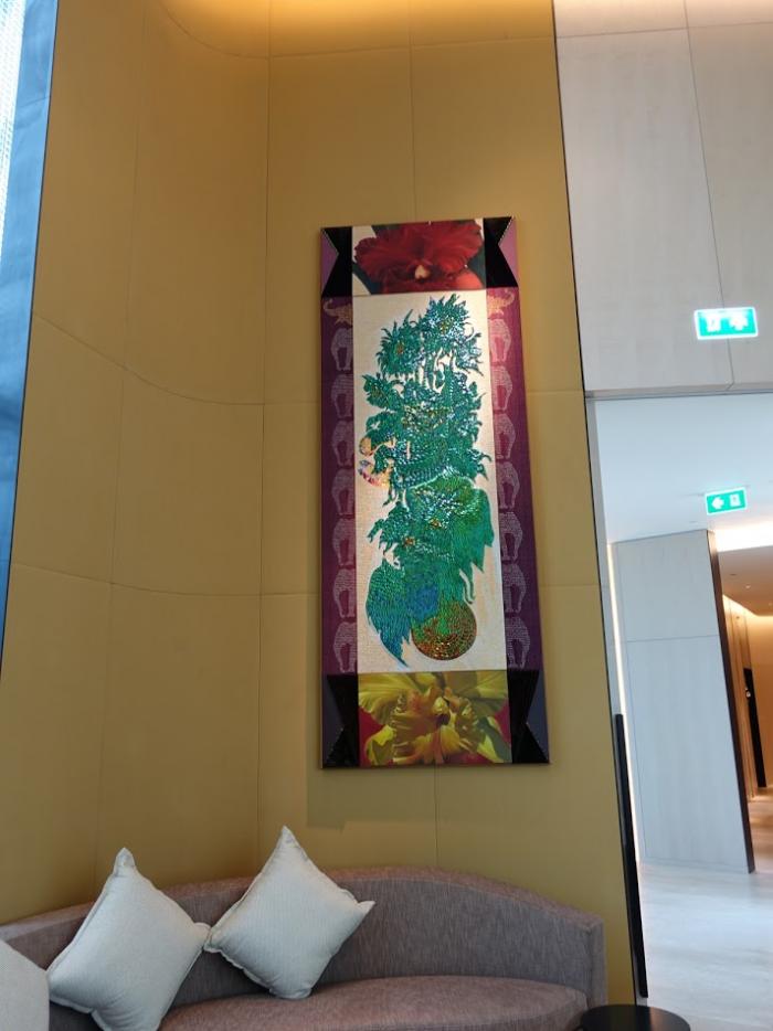 Park Hyatt Bangkok - Lobby Bar - Wall Art