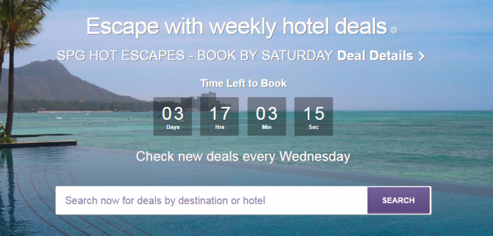 SPG Hot Escapes May 10 2017