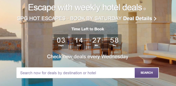 SPG Hot Escapes May 24 2017