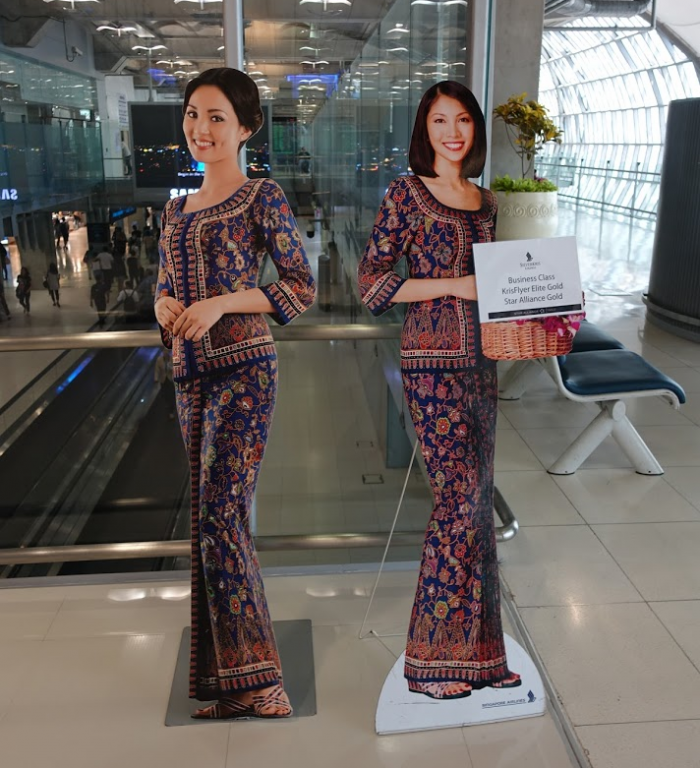 Singapore Airlines New SilverKris Lounge Suvarnabhumi Airport Entrance Requirements
