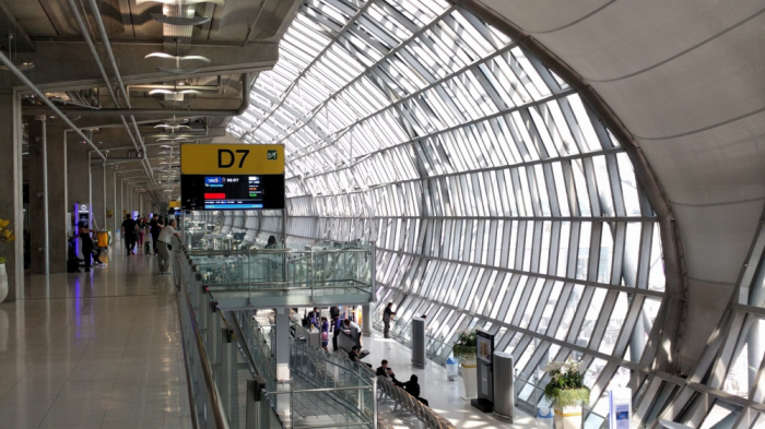 Singapore Airlines New SilverKris Lounge Suvarnabhumi Airport Gate D7
