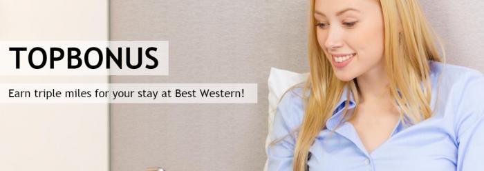 Best Western Rewards Airberlin Topbonus Triple Miles May 16 - August 31 2017