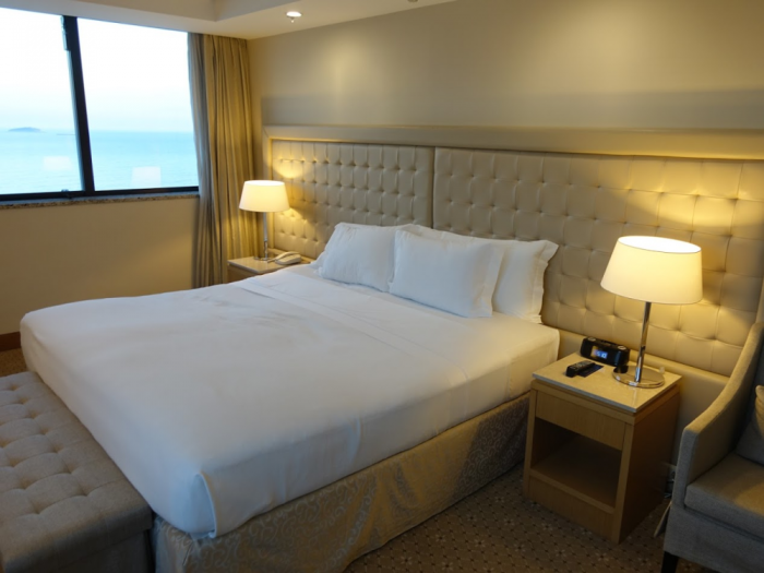 Hilton Copacabana Bed
