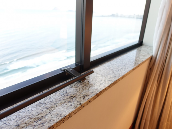 Hilton Copacabana Window