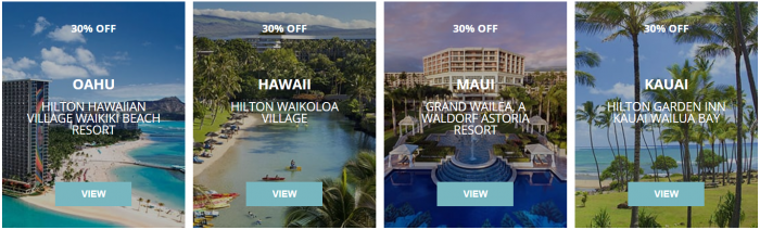 Hilton Hawaii Up To 30 Percent Off Sale Hotels 1