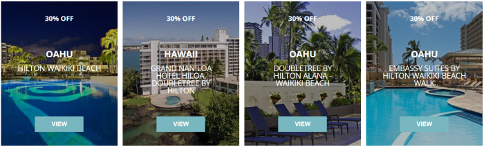 Hilton Hawaii Up To 30 Percent Off Sale Hotels 2