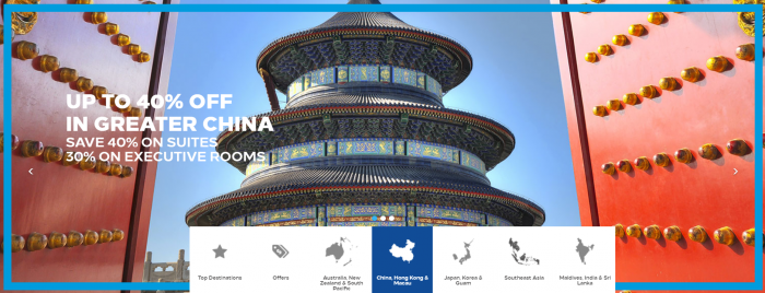 Hilton Honors Greater China Summer Sale