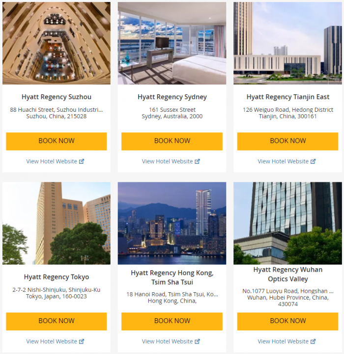 Hyatt Asia-Pacific Up To 25 Percent Off July 1 - September 3 2017 11