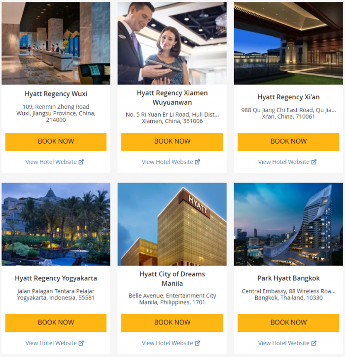 Hyatt Asia-Pacific Up To 25 Percent Off July 1 - September 3 2017 12