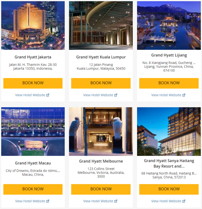 Hyatt Asia-Pacific Up To 25 Percent Off July 1 - September 3 2017 3