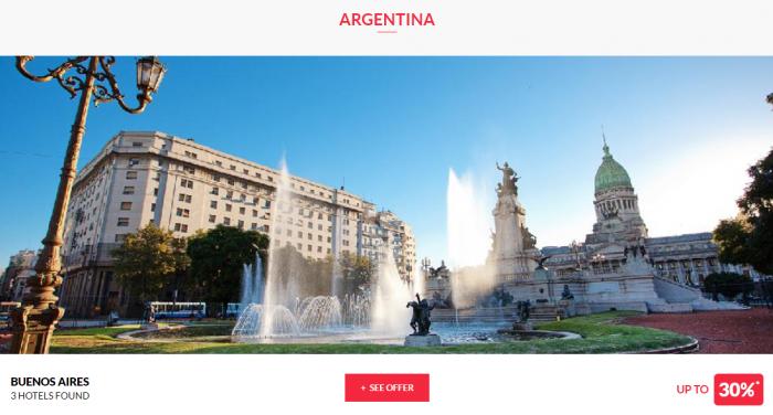 Le CLub AccorHotels Private Sales June 14 2017 Argentina 1