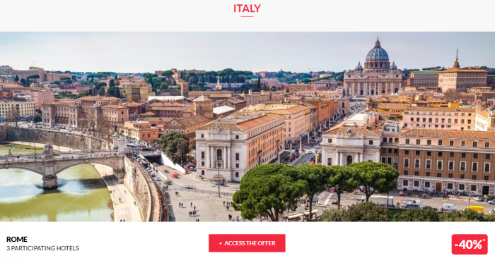 Le CLub AccorHotels Private Sales June 14 2017 Italy 1
