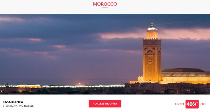 Le CLub AccorHotels Private Sales June 14 2017 Morocco 1