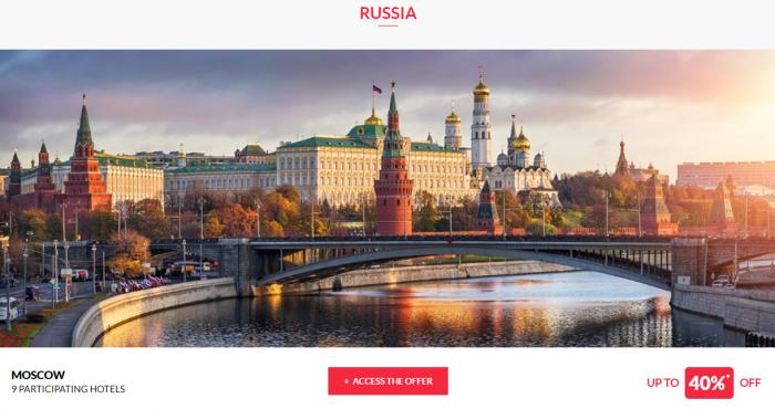 Le CLub AccorHotels Private Sales June 14 2017 Russia 1