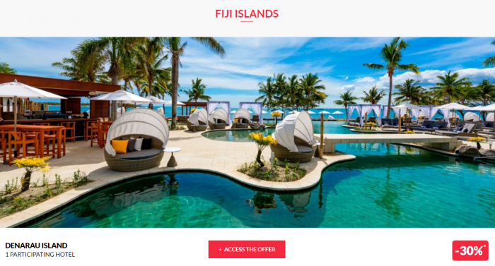 Le Club AccorHotels Worldwide Private Sales June 21 2017 Fiji 1