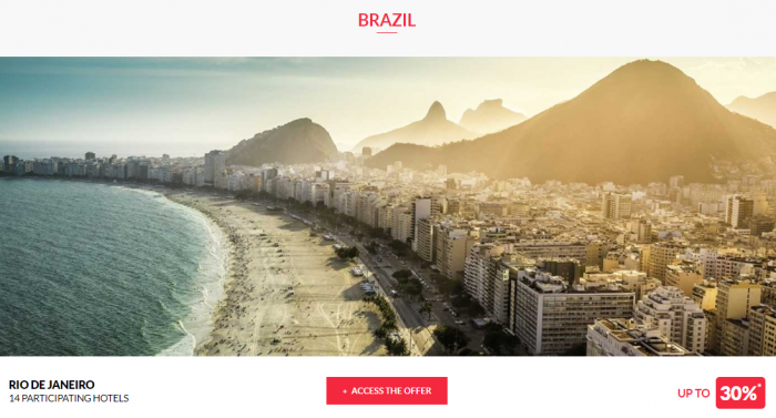 Le Club AccorHotels Worldwide Private Sales June 28 2017 Brazil 1