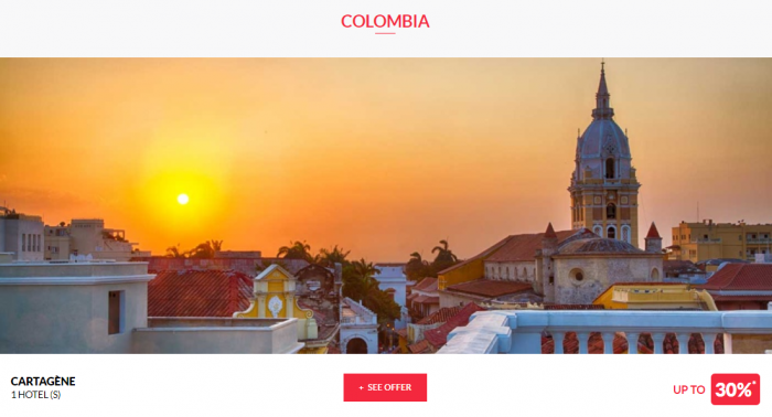 Le Club AccorHotels Worldwide Private Sales June 28 2017 Colombia 1