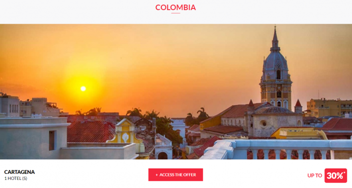 Le Le Club AccorHotels Worldwide Private Sale Colombia 1