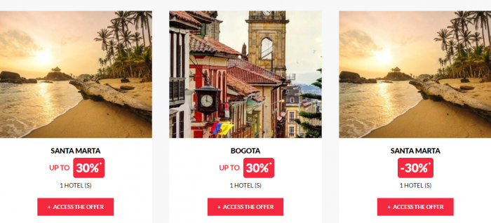 Le Le Club AccorHotels Worldwide Private Sale Colombia 2