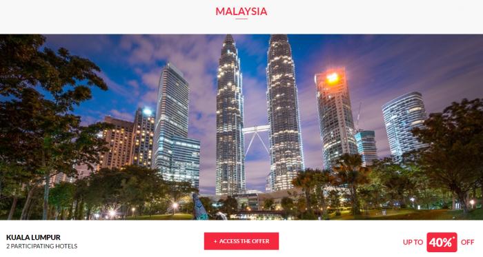 Le Le Club AccorHotels Worldwide Private Sale Malaysia 1
