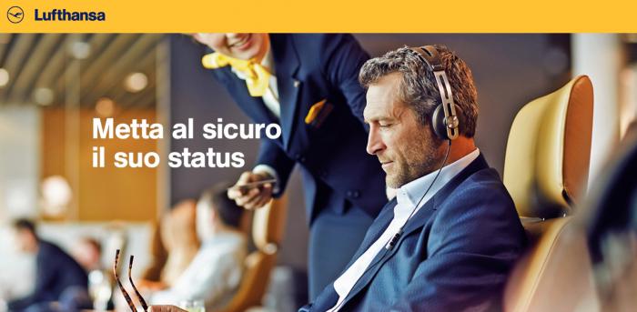 Lufthansa Miles&More Status Match