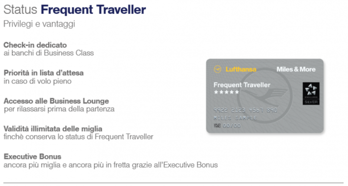 Lufthansa Miles&More Status Match Frequent Traveler