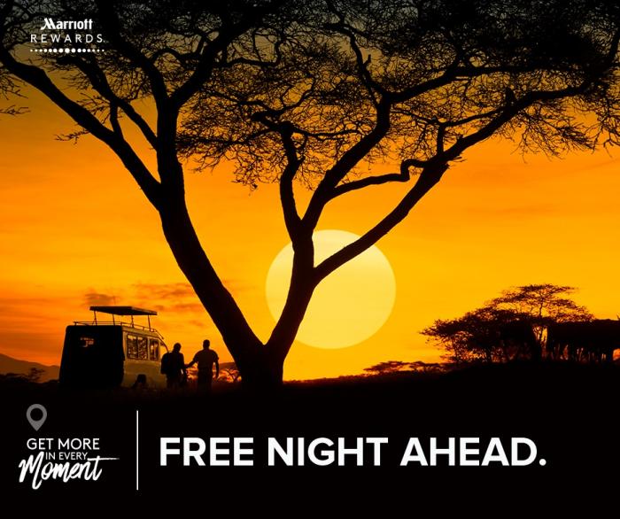 Marriott Rewards Category 1 - 5 Free Night New Accounts