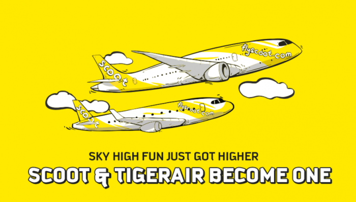 Scoot & Tiger Merger