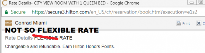 Hilton Cancellation Policy Changes