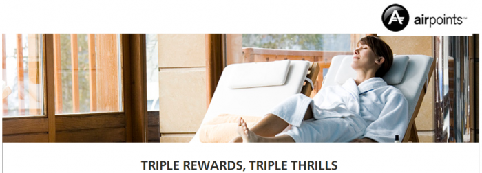 Hilton Honors Air New Zealand Up To Triple Airpoints Dollars July 12 - October 31 2017