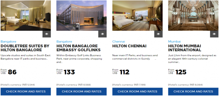 Hilton Honors India Up TO 30 Percent Off 3