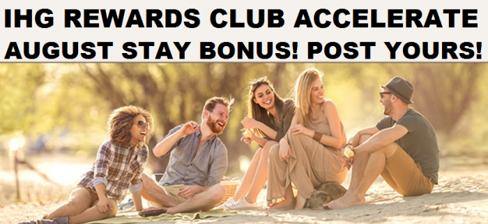 IHG Rewards Club Accelerate-Promo August Bonus
