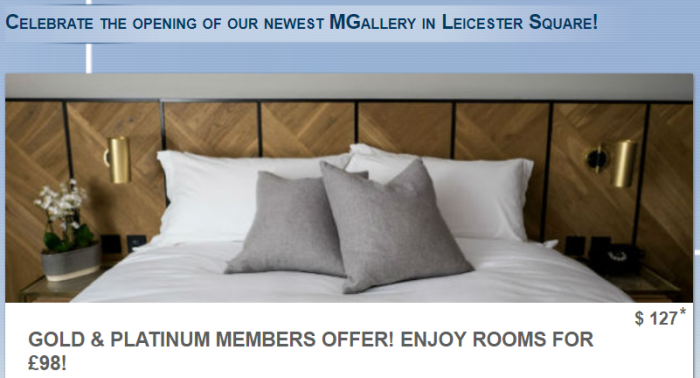 Le Club AccorHotels Victory House MGallery Leicester Square