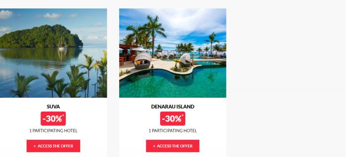 Le Club AccorHotels Worldwide Private Sale July 26 2017 Fiji 2