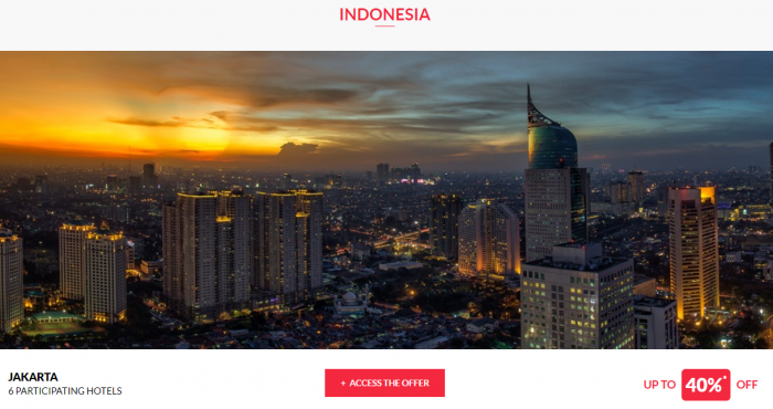 Le Club AccorHotels Worldwide Private Sale July 26 2017 Indonesia 1