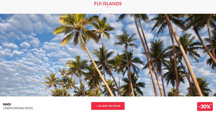 Le Club AccorHotels Worldwide Private Sales July 12 2017 Fiji 1