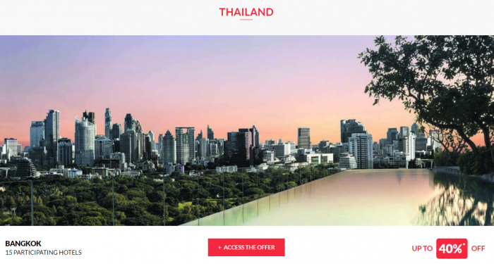 Le Club AccorHotels Worldwide Private Sales July 12 2017 Thailand 1