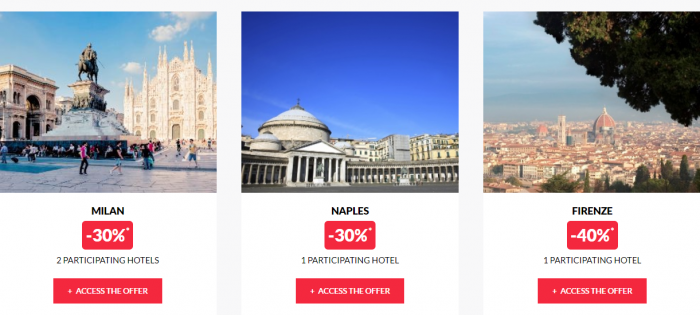 Le Club AccorHotels Worldwide Private Sales July 19 2017 Italy 2