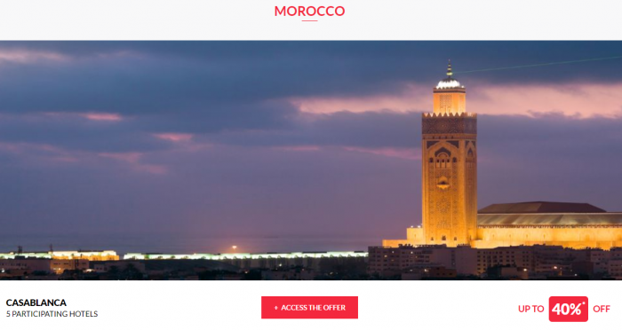 Le Club AccorHotels Worldwide Private Sales July 19 2017 Morocco 1
